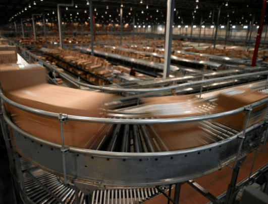 Warehouse Flow Path - Conveyors