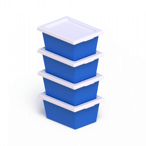 Stack and Nest Crates - Stacking