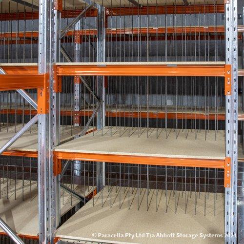 Selective Pallet Racking - Timber Shelves