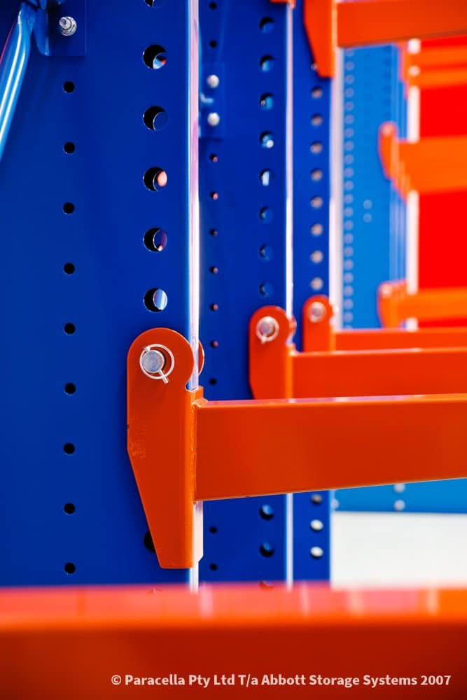 ABC Blinds - Heavy Duty Cantilever Racking Arms & Retaining Pin
