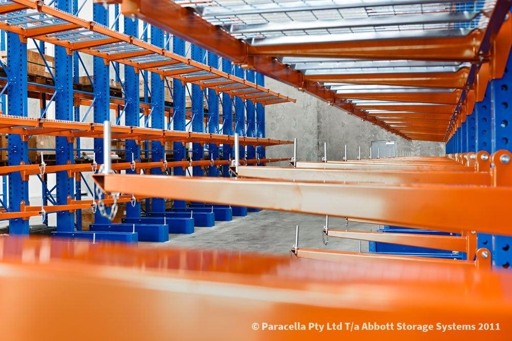 Halliburton - Warehouse - Cantilever Racking Arms