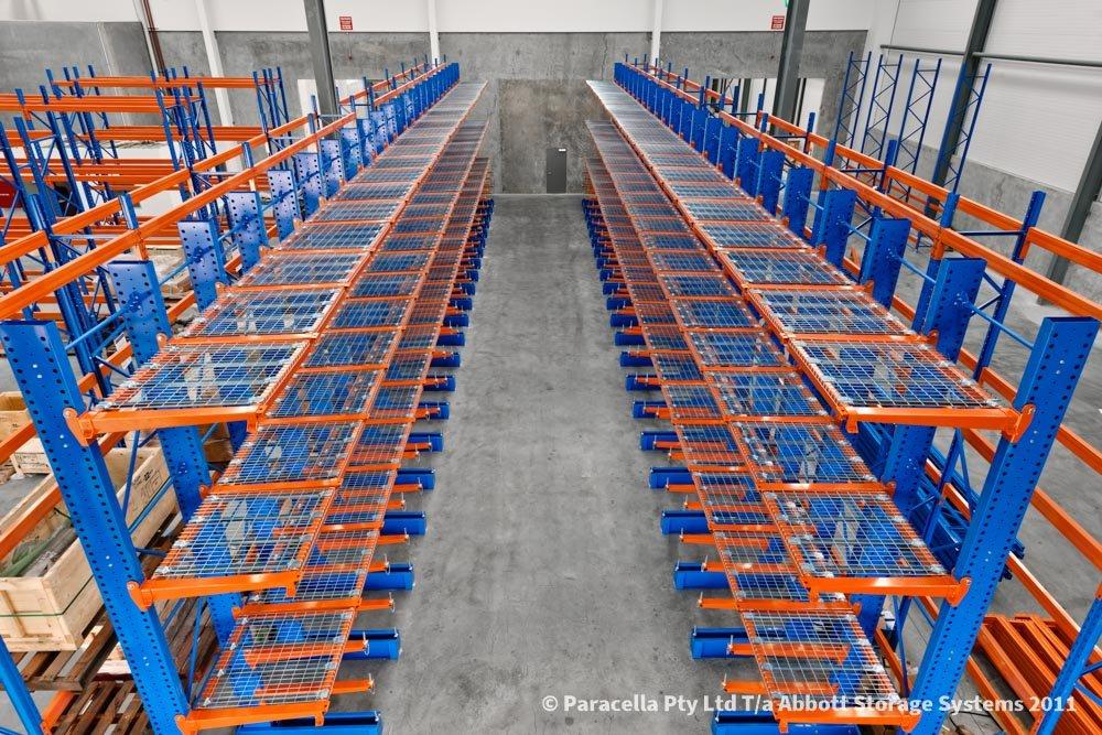 Halliburton - Warehouse Storage Solution