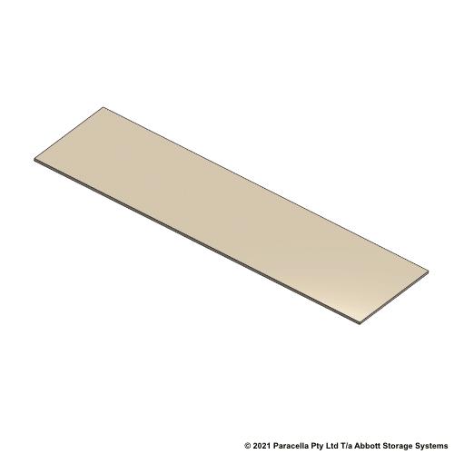 PR45730 - 18mm Shelf Board 2570mmW x 838mmD