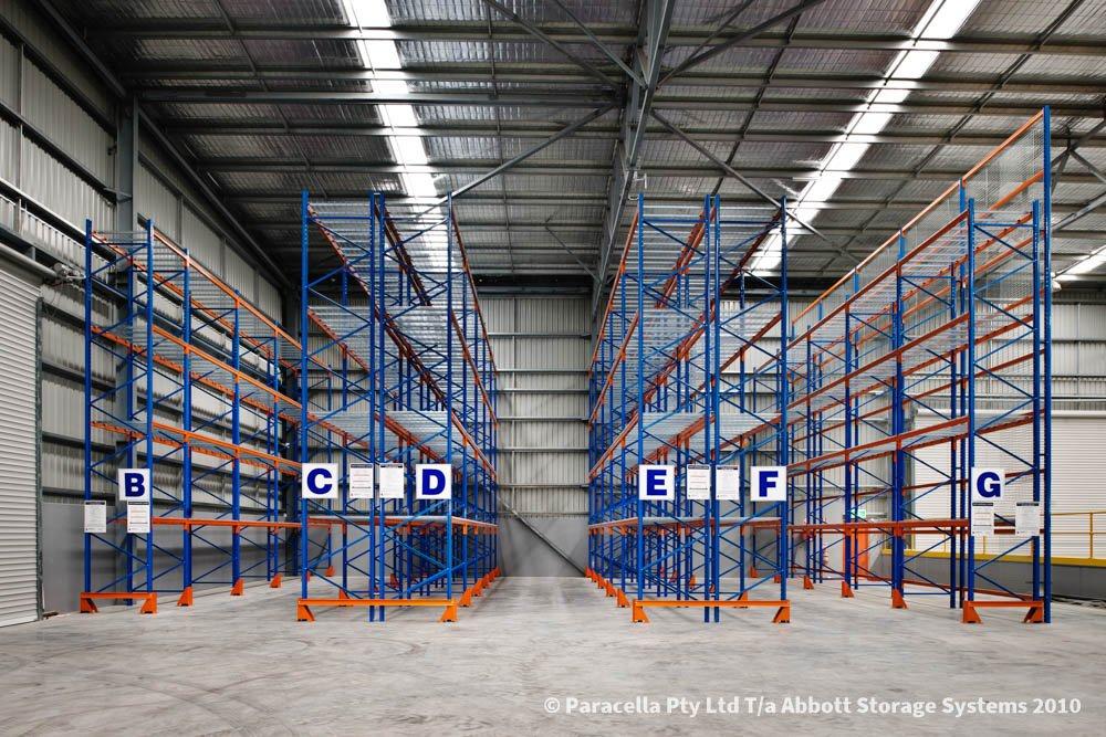 TNT Australia - Warehouse Storage Solution - Selective Pallet Racking