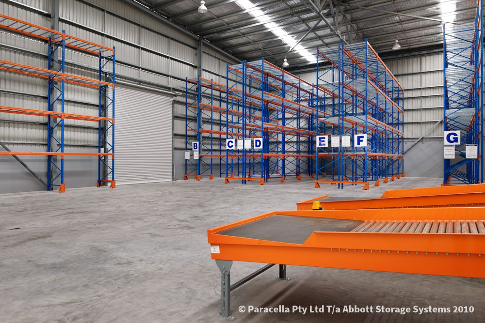 TNT Australia - Warehouse Storage Solution