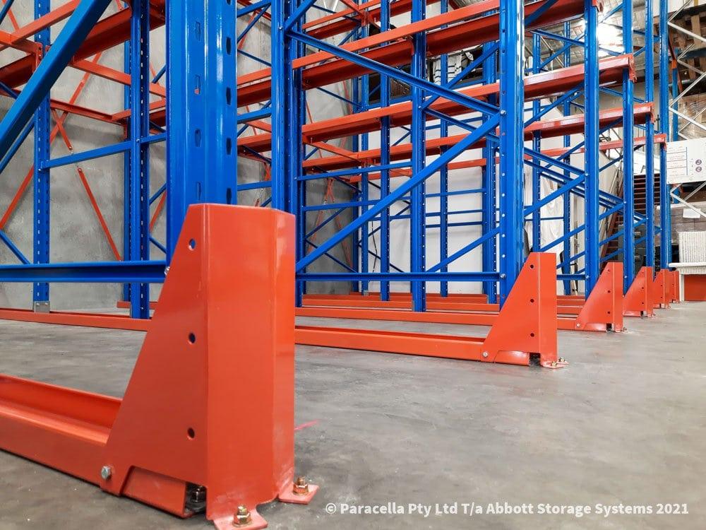Taldara Industries - Drive In Pallet Racking - Guide Rails
