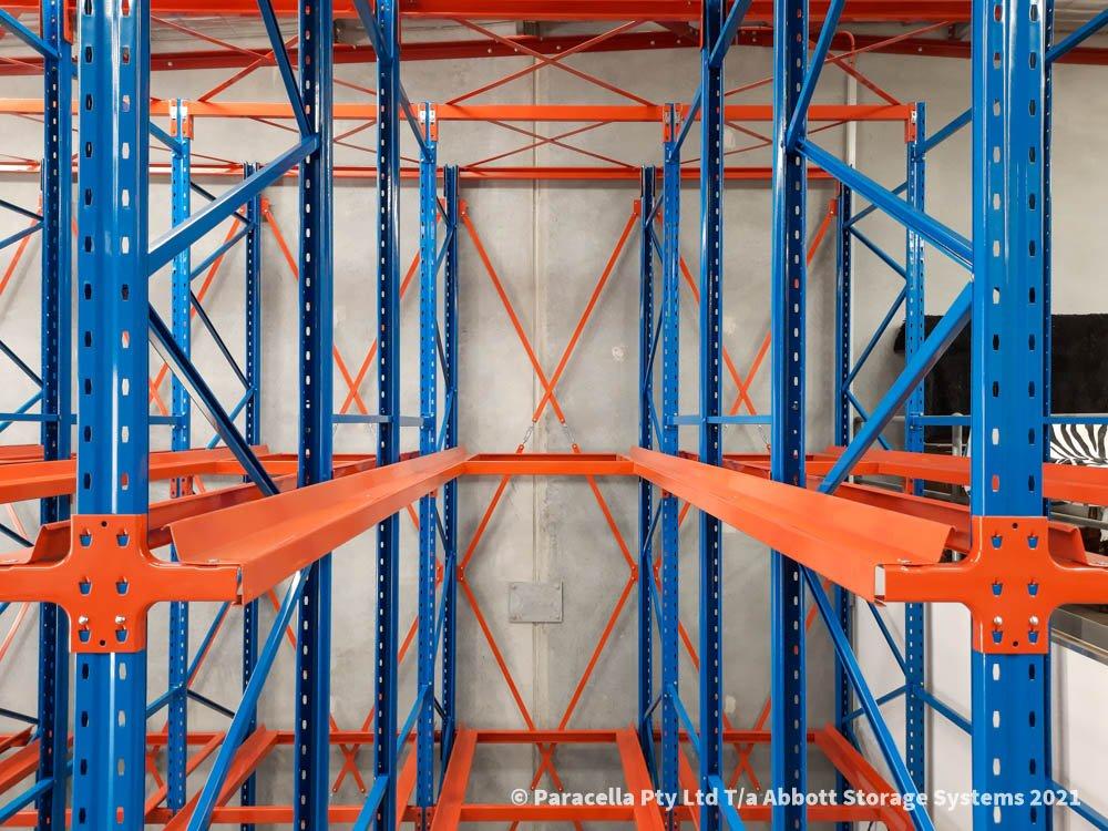 Taldara Industries - Drive In Pallet Racking - Pallet Rails