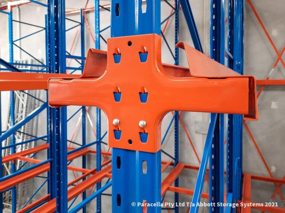 Taldara Industries - Drive In Pallet Racking - Self Centering Pallet Rails