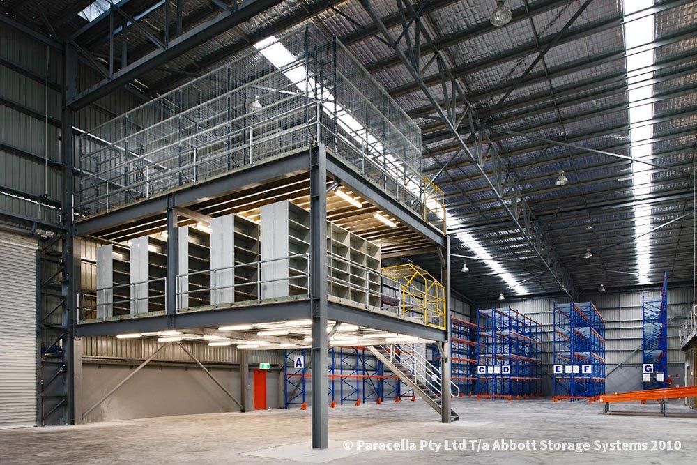 TNT Australia - Raised Storage Area