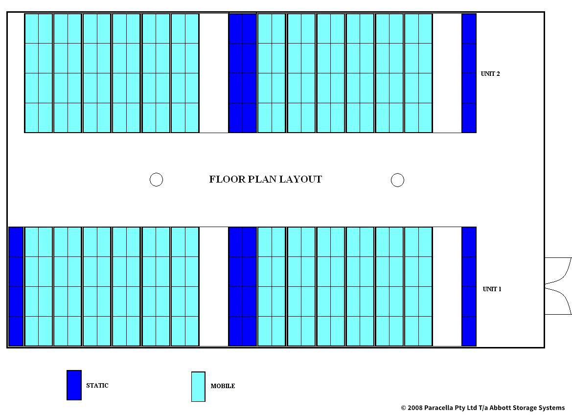 City of Bayswater - Compactus Unit Floor Plan