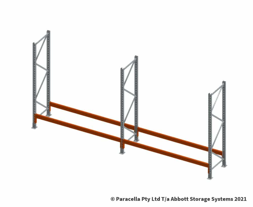 Installing Warehouse Pallet Racking - Check the level