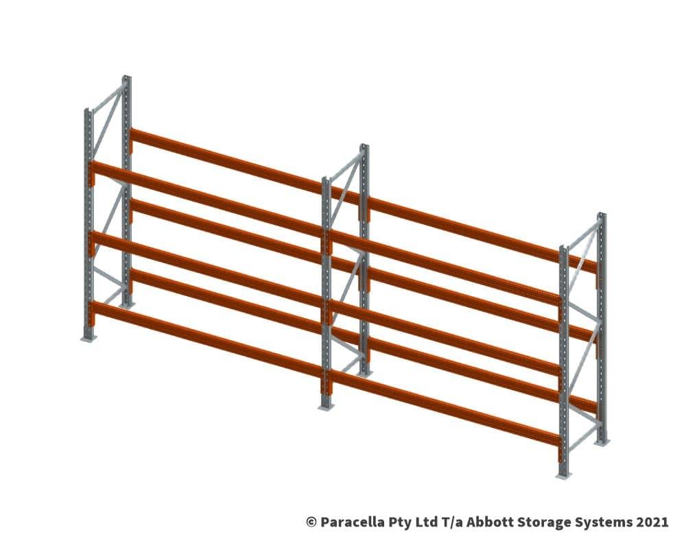 Fit upper beams