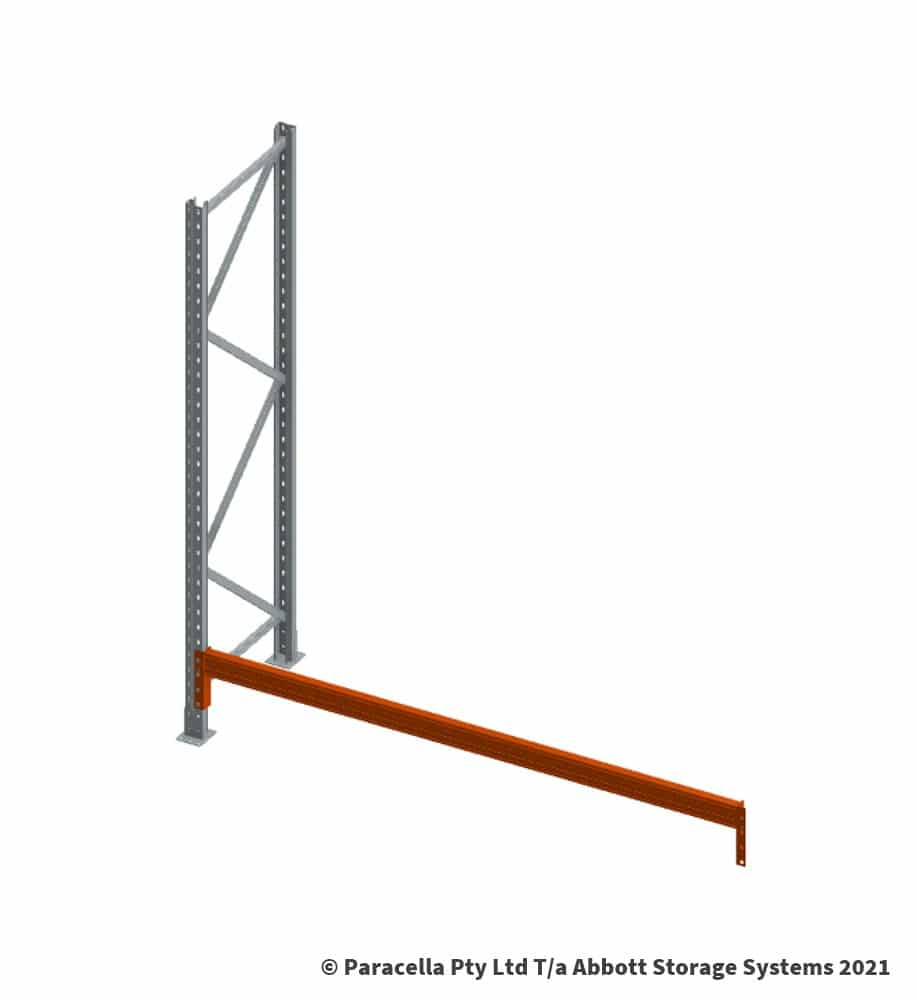 Installing Warehouse Pallet Racking - Securing beam at lowest point