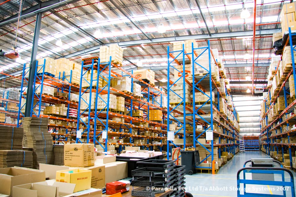 Selective Pallet Racking_Warehouse Fitout