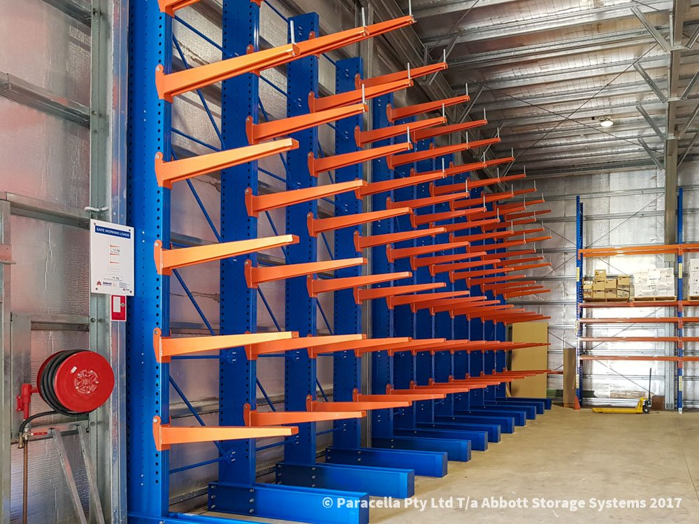 Ampac Safety - Heavy Duty Cantilever Racks