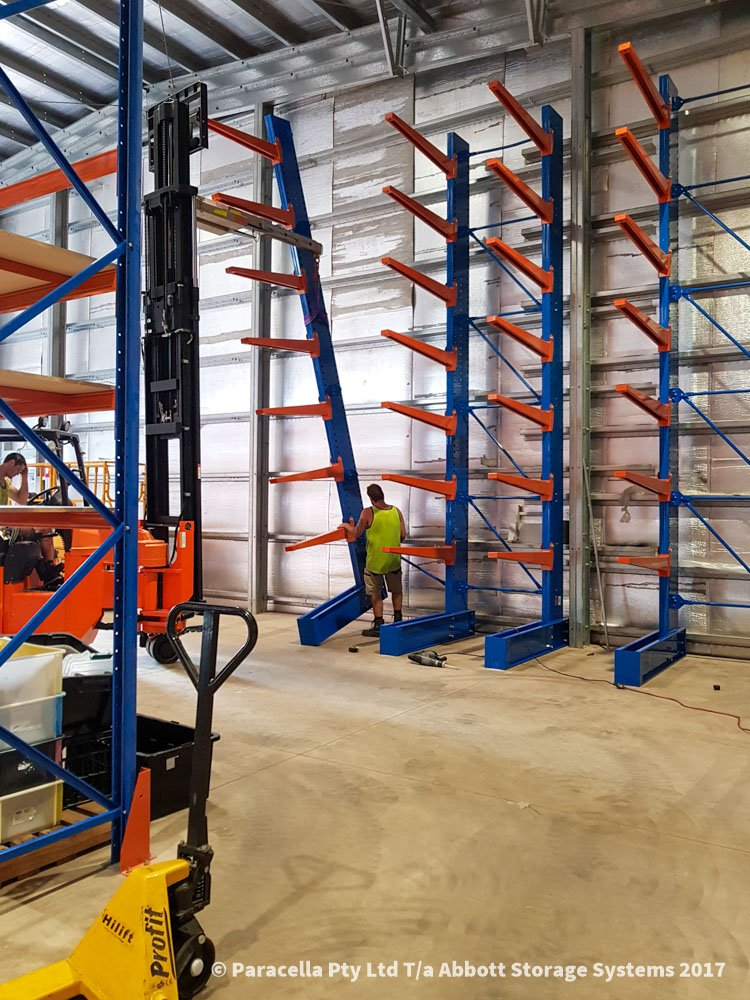 Ampac Safety - Installing Heavy Duty Cantilever Racks