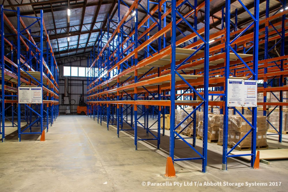 Ampac Safety - Selective Pallet Racking Fitout