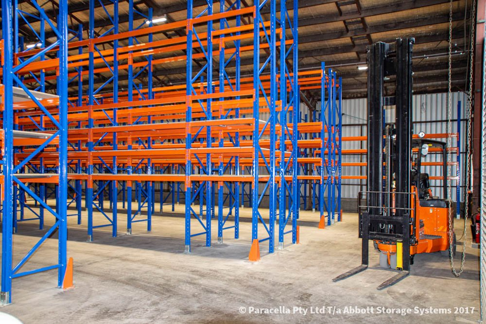 Ampac Safety - Selective Pallet Racking Storage System