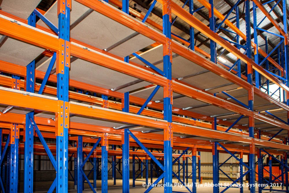 Ampac Safety - Selective Pallet Racking Timber Shelves