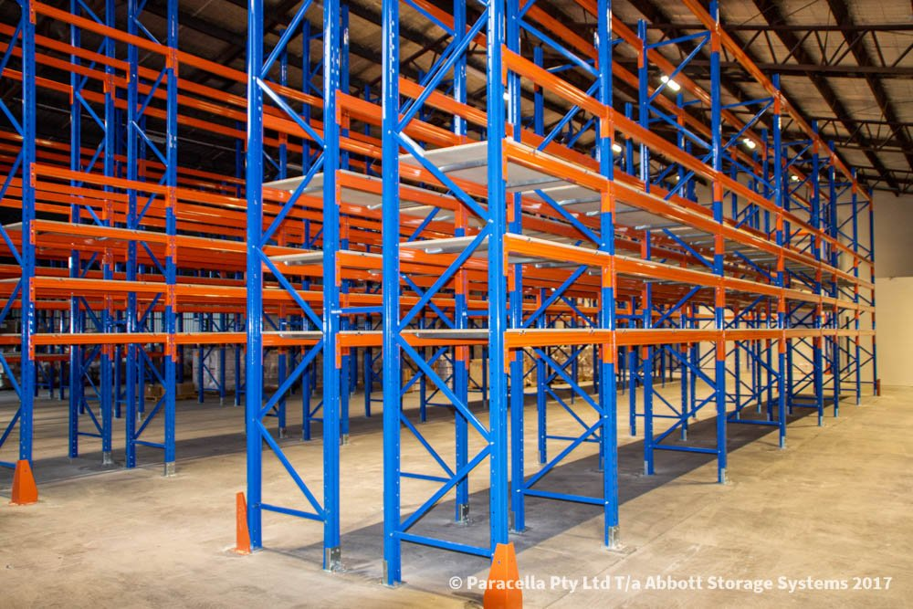 Ampac Safety - Selective Pallet Racking