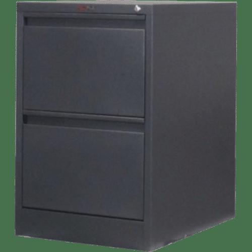 CB2501GR - Filing Cabinet 2 Drawer 720H x 470W x 620D Graphite Ripple