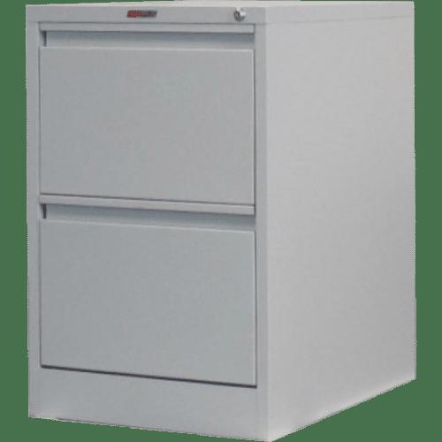 CB2501GY -Filing Cabinet 2 Drawer 720H x 470W x 620D Grey