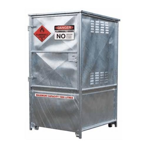 CB34600 - 1000L Outdoor Metal Dangerous Goods Store