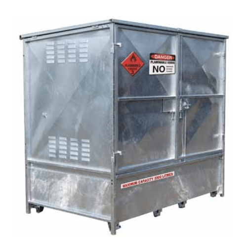 CB34700 - 2000L Outdoor Metal Flammable Cabinet