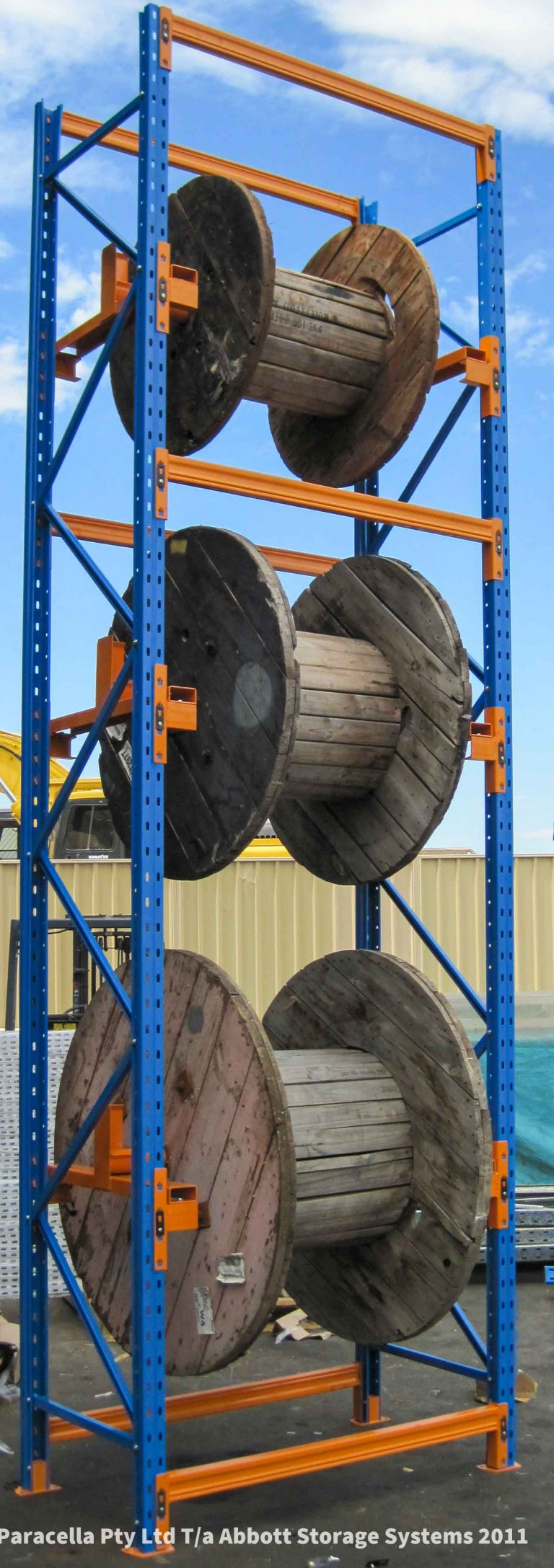 Cable Racking - Selective Pallet Racking - Loaded Racks