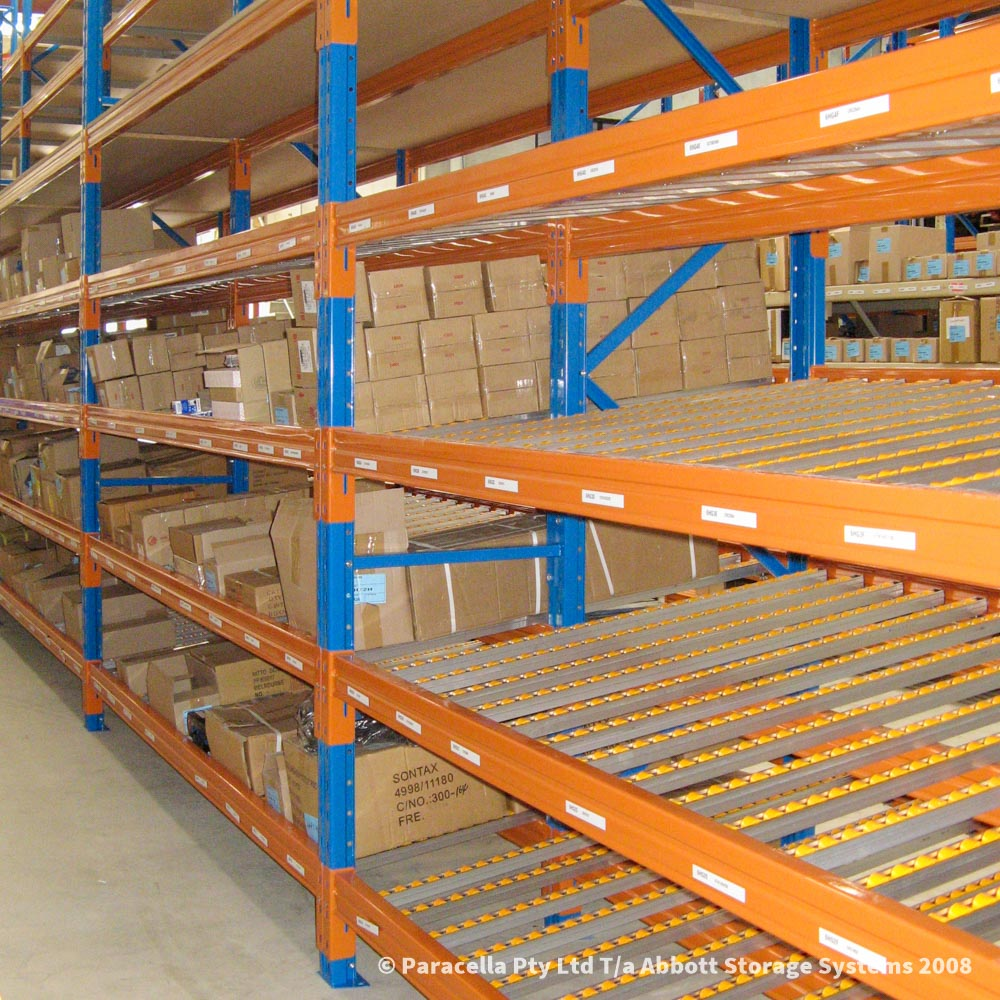 Carton Live Storage - CLS Storage Racking