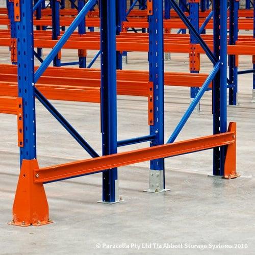 Selective Pallet Racking Bolt-On End Barrier
