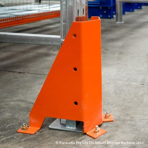 Selective Pallet Racking Floor Mounted Column Guard