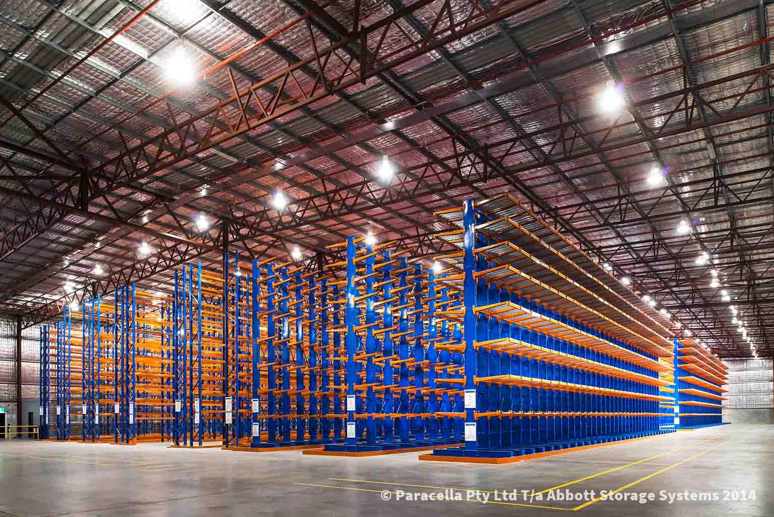 Warehouse Racking Fitout