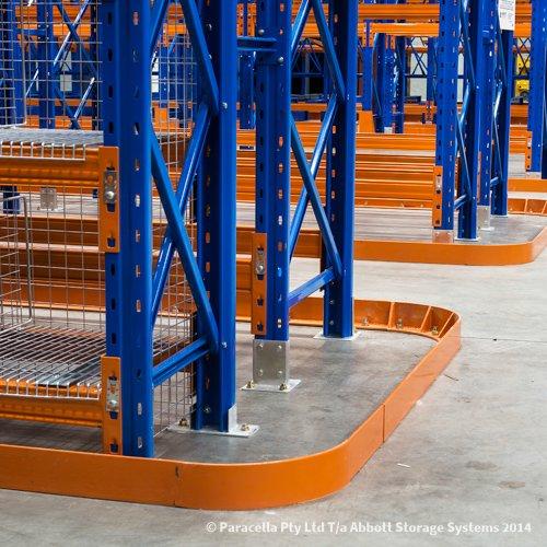 Selective Pallet Racking Floor Guide Rail