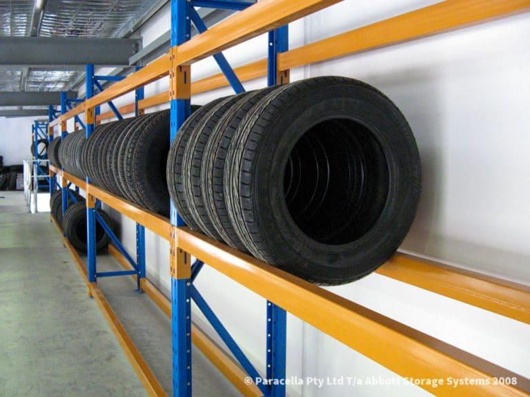 Selective Pallet Racking - Tyre Racking