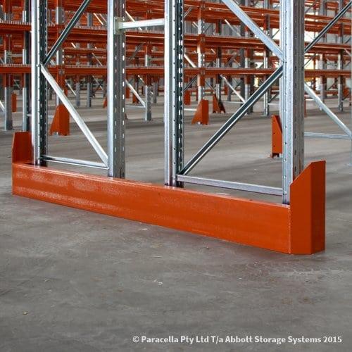 Selective Pallet Racking Solid End Barrier