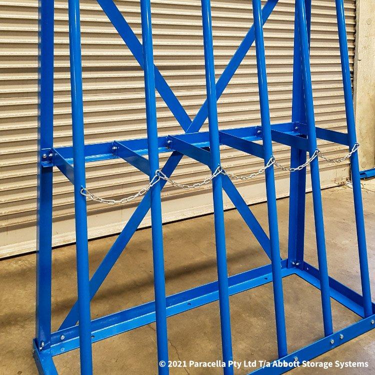 Vertical Short Length Storage Racks